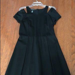 Inc cutout black dress size M